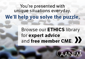Browse our ethics library for expert advice and free member CME