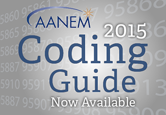 2015 AANEM Coding Guide now available